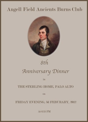 Robert burns dinners hosting a burns night for Burns supper menu template